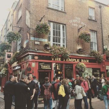 Temple Bar District Dublin Ireland