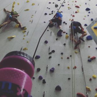first ascent rock climbing nuun ambassador team nuun