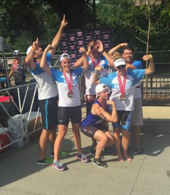 2016 Chicago Triathlon Team Ballou Skies
